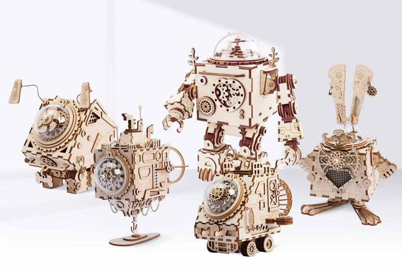 New Steampunk Music Boxes by Robotime are FOR SALE
