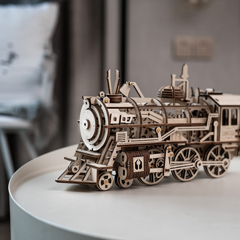 robotime locomotive train model