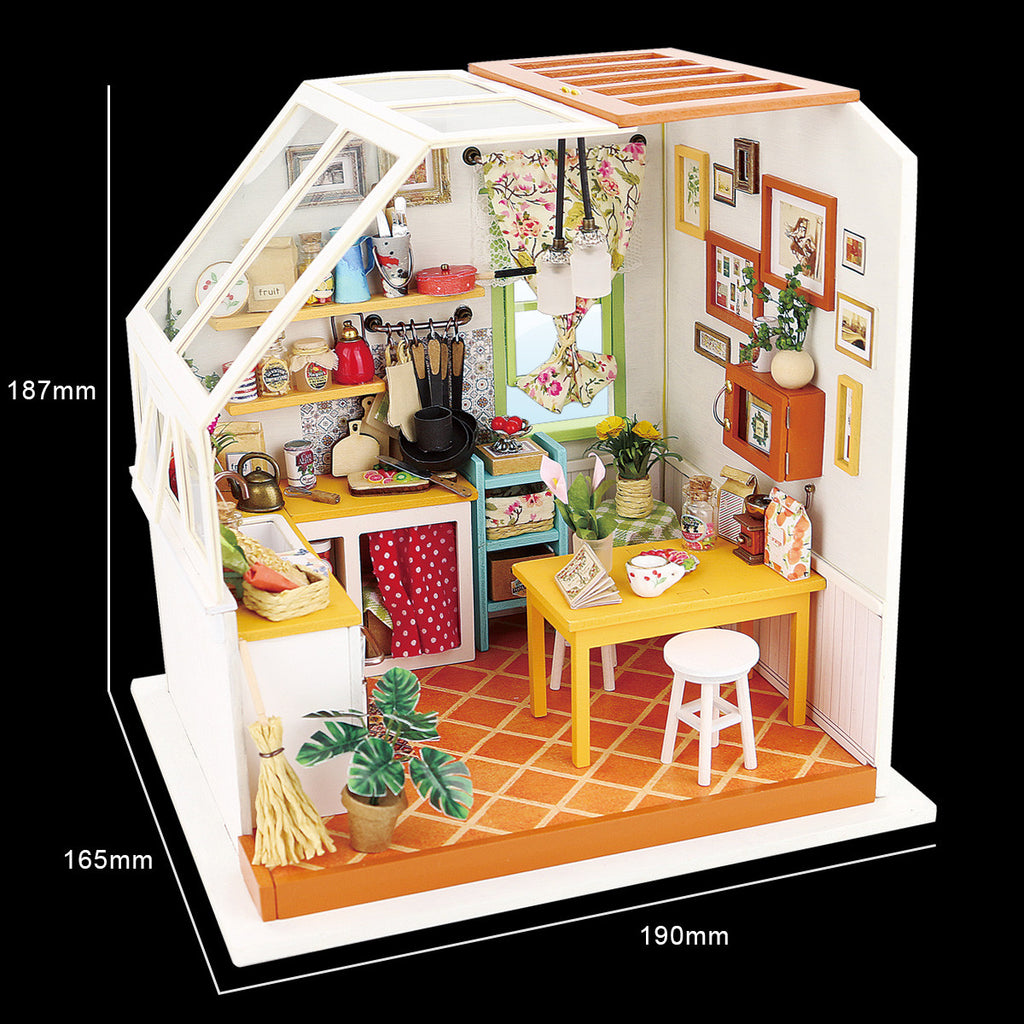 DIY Dollhouse-Jason's Kitchen