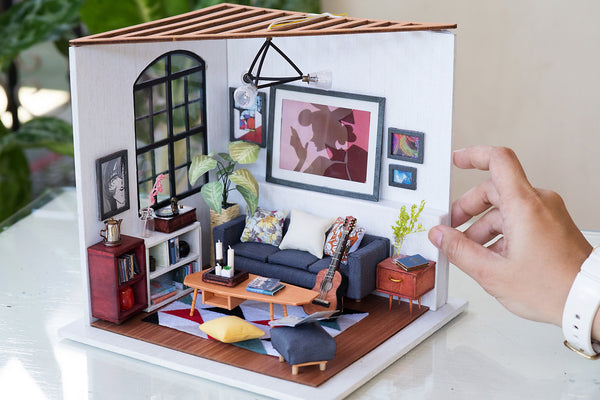 "Miniature Children S Bedroom Room Box Diorama: Is It A ""dollhouse"" Or A ""diorama"" Or A ""miniature House"