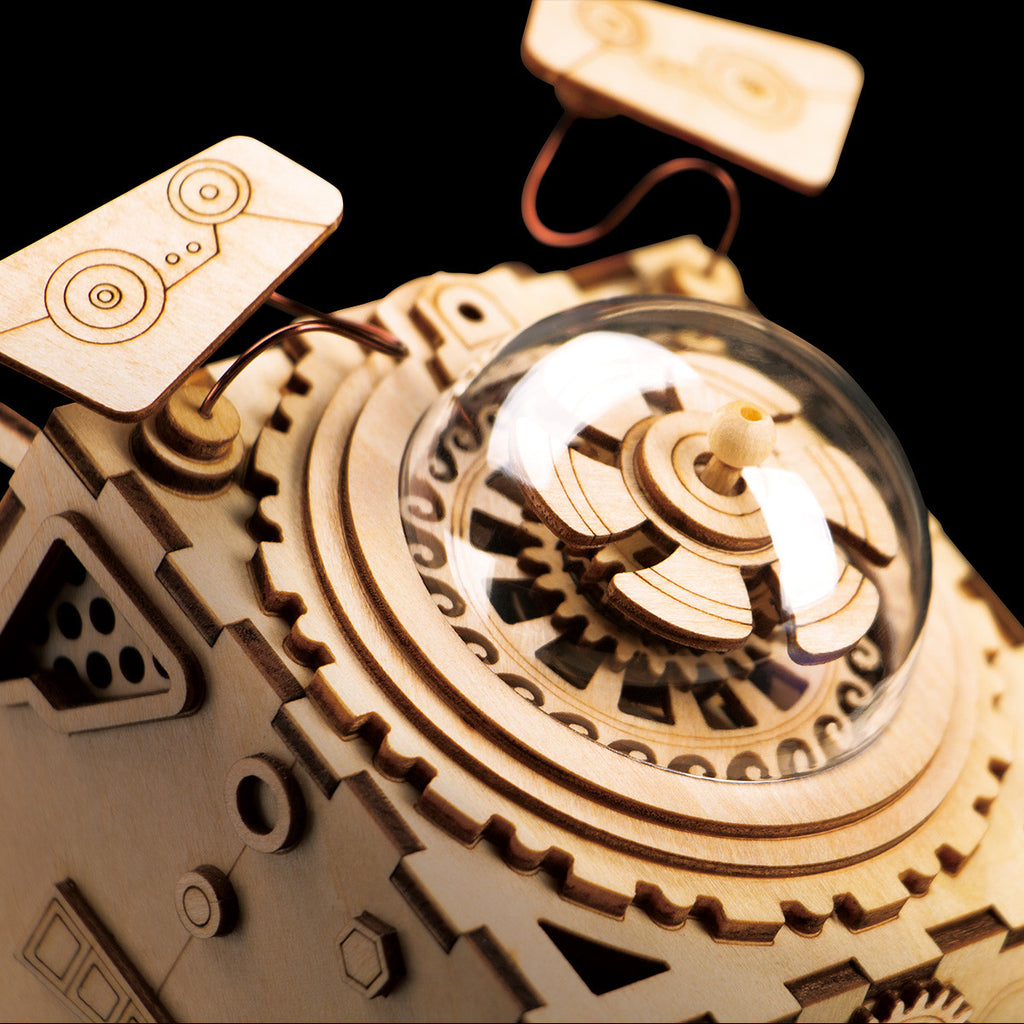 Robotime AM681 Spaceship - DIY Steampunk Music Box