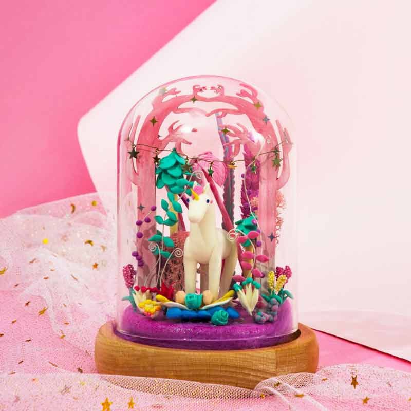 Little Unicorn DC01 - Robotime Starry Dreams Air Dry Clay Kit