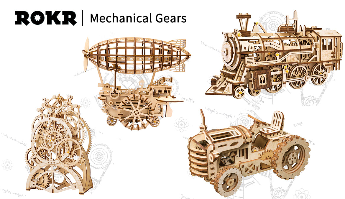 Party Favors Do It Yourself Cars Castles Cannons Planes Ships Wooden Creative Gift Modern Home Decorations Ornaments Kids Toy Party Favors