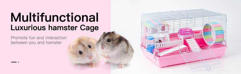 Robotime Hamster Cage Pet Supply