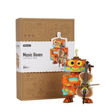 Robotime New Arrival Music box - Dream Series - Little Performer AMD53