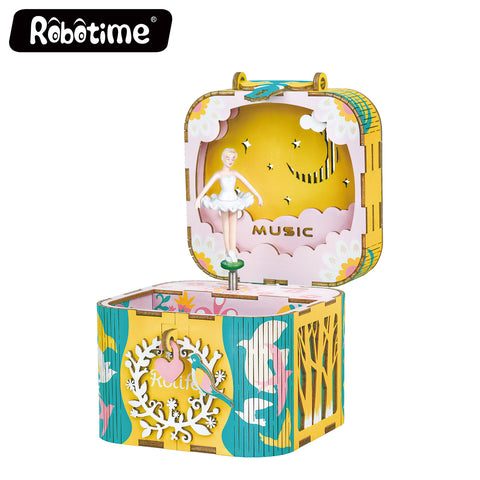Robotime New Arrival Music box - Dream Series - Dancing Ballerina AMD52
