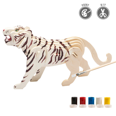 3D painting puzzle HC209 Tiger