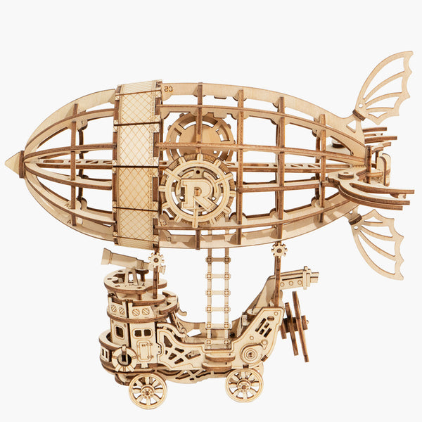 Airship Modern 3D Wooden Puzzle