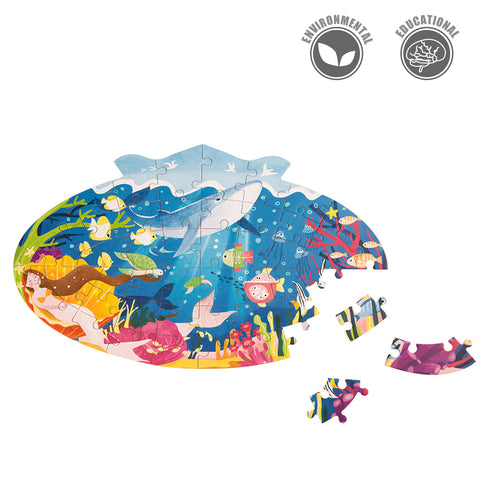 Jigsaw Puzzle 48 PCS - Sleeping Mermaid - YX002