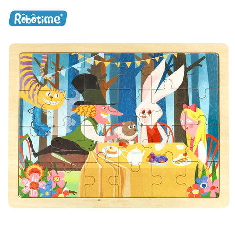 Jigsaw Puzzle 24 PCS - Alice's Party - DY2401