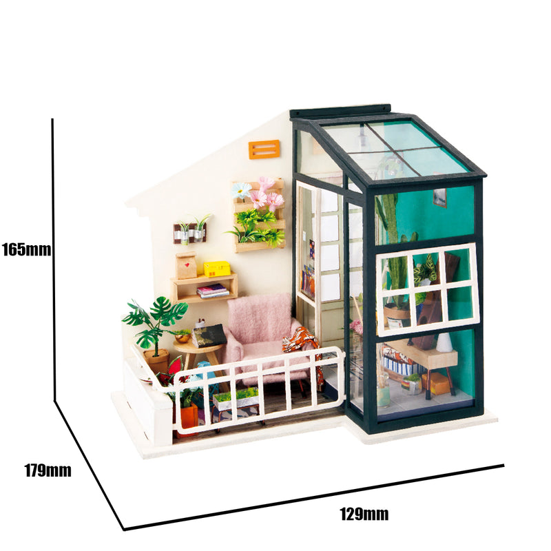 Balcony Daydreaming DGM05 DIY Platform Dollhouse