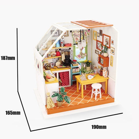 DIY Dollhouse Kit-Jason's Kitchen DG105