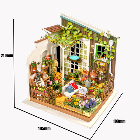 DIY Dollhouse Kit-Miller's Garden DG108