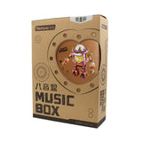 Steampunk Music Box- AM601 Orpheus Special Edition - LOVE - Silk Screen