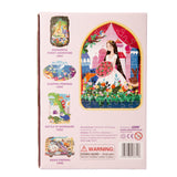 Jigsaw Puzzle 48 PCS - Rose Princess with Mr.Rabbit Brown - YX004