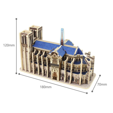 Word's Great Architecture-JZ802 Notre-Dame Cathdral