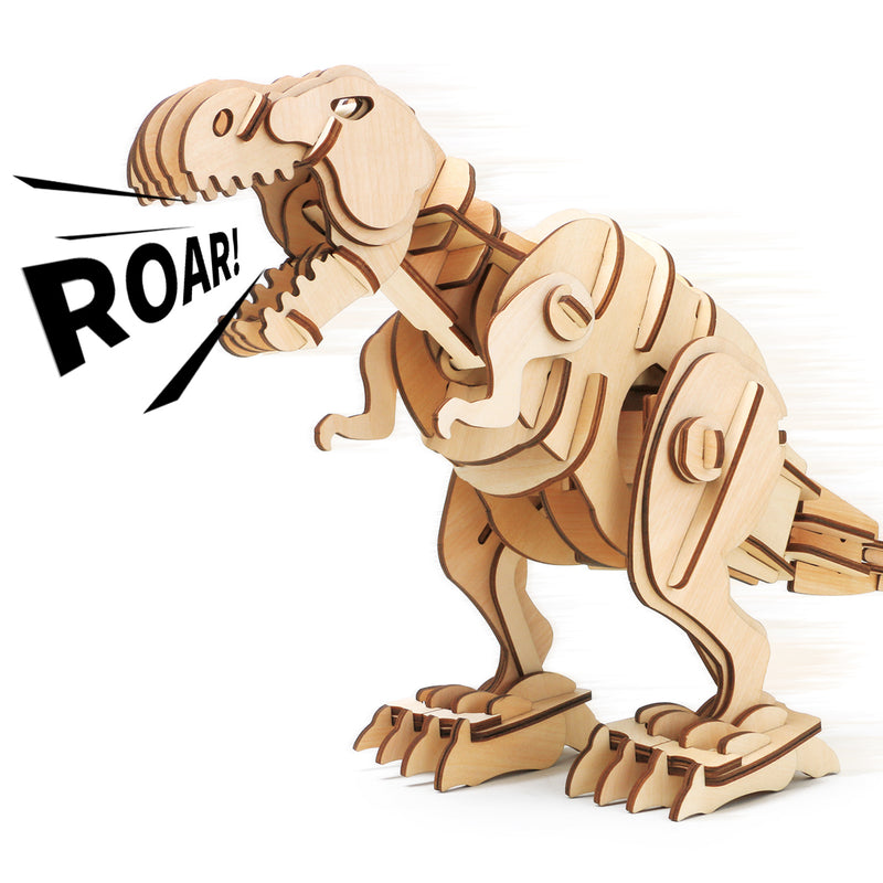 Robotic T-Rex D200 Dinosaur with Three Control Modes