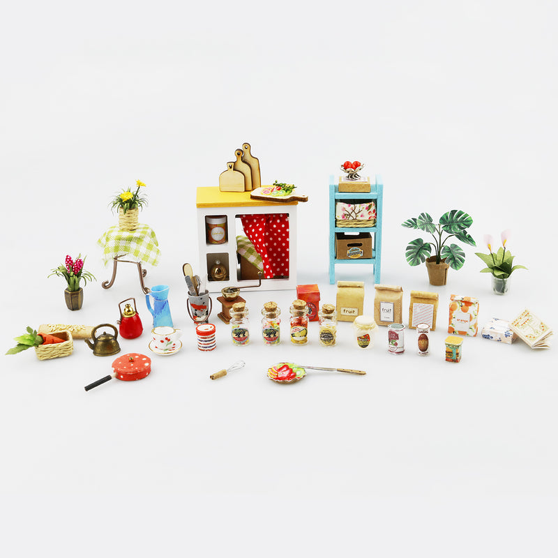 Jason's Kitchen DG105 Cookery DIY Miniature Kit