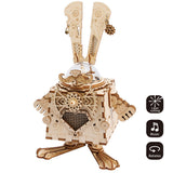 Steampunk Music Box- AM481 Bunny