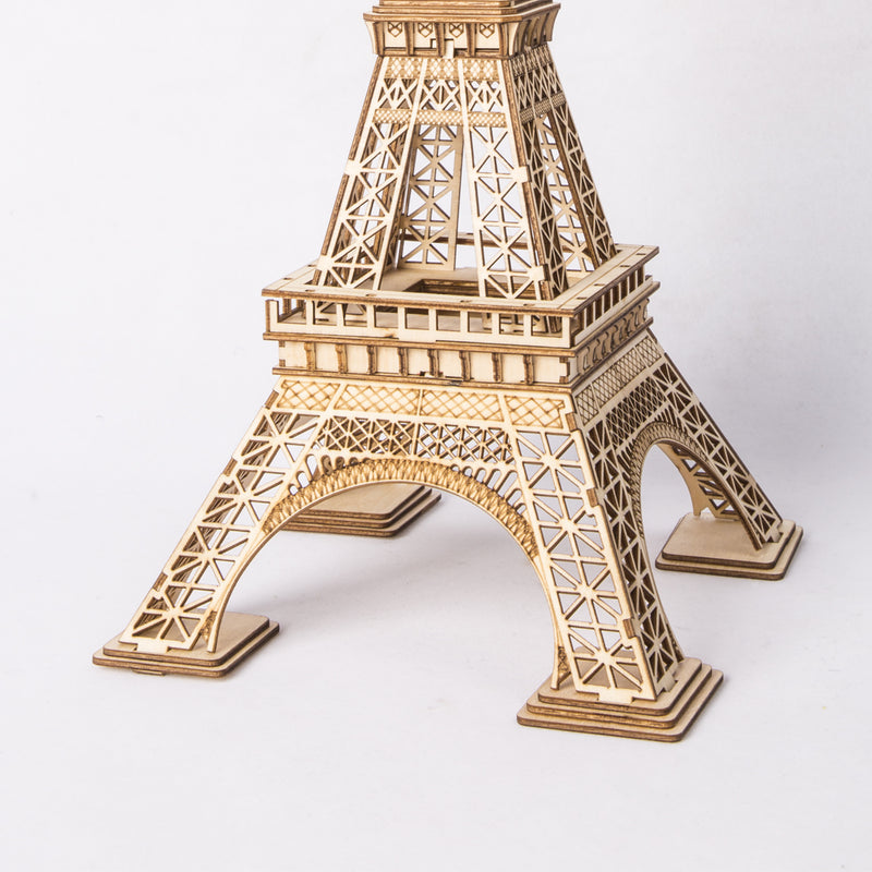 Robotime Modern 3D Wooden Puzzle-Non Animals TG501 Eiffel Tower
