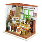 3D jigsaw puzzles, DIY-doolhouse, DG102/ Ada's Studio, complete with all miniature accessories.