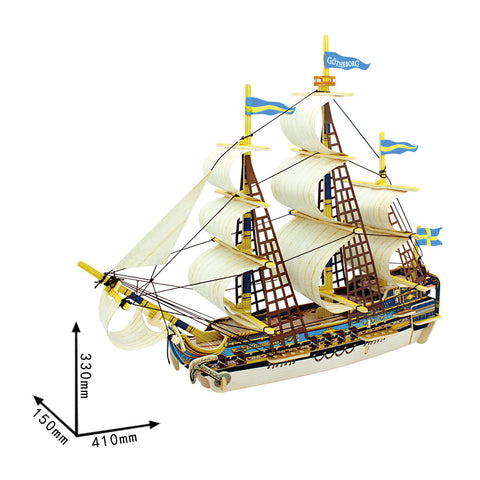 Ancient Ship-Gothenburg BA503S