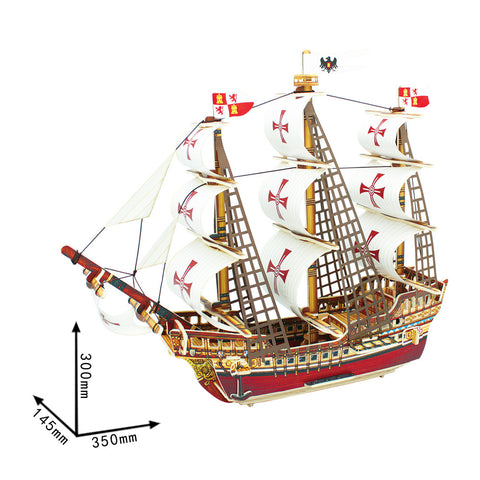 Ancient Ship-BA502S Santa Maria