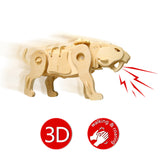 Robotic Dinosaurs - Sound Control Saber-Toothed Tiger A410
