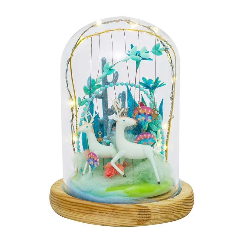 Deer's Paradise DC02 - Robotime Starry Dreams Air Dry Clay Kit