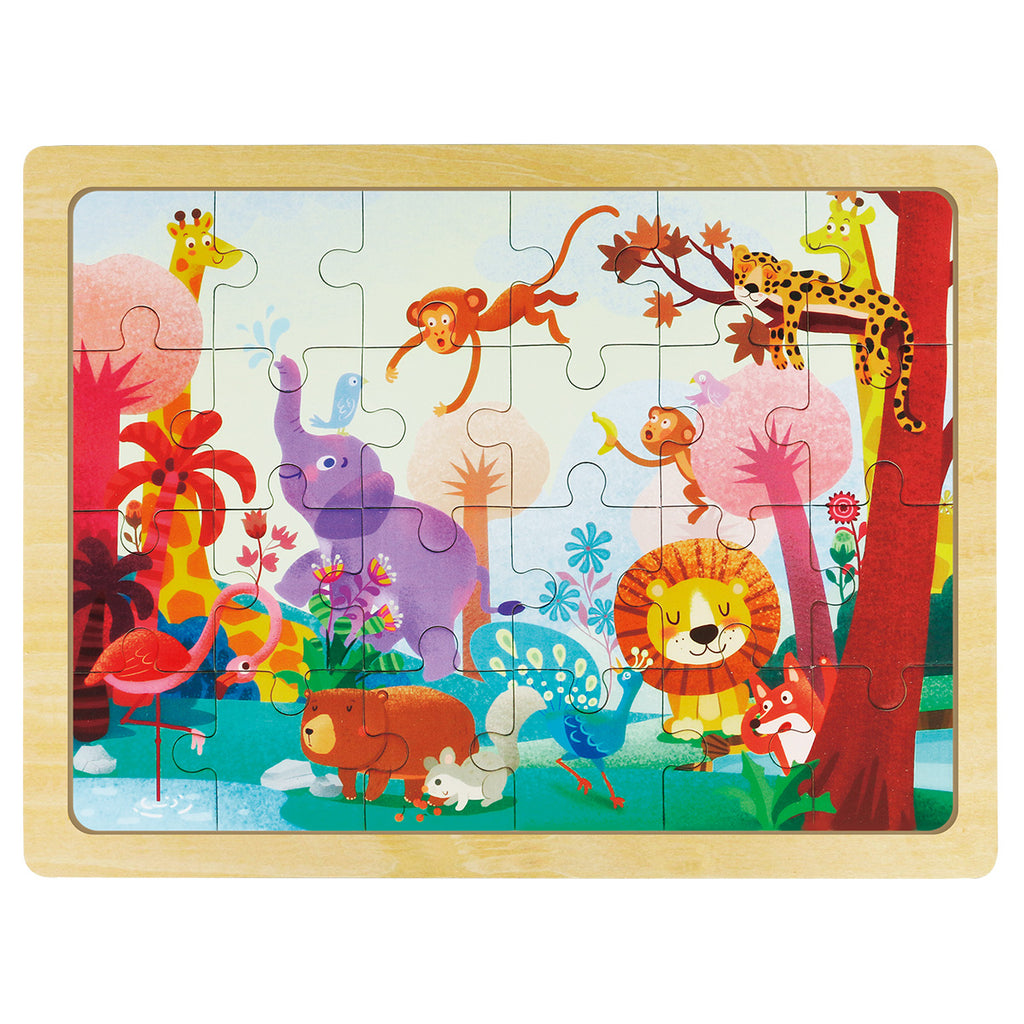 Jigsaw Puzzle 24 PCS - Wonderful Forest - DY2402
