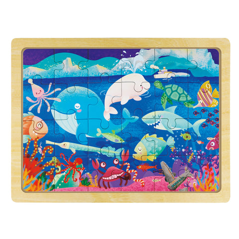Jigsaw Puzzle 24 PCS - Sea World - DY2405