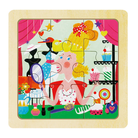 Jigsaw Puzzle-Princess Dress-Up DY903