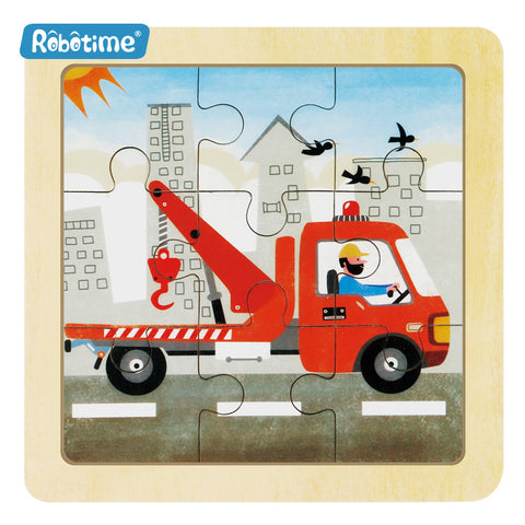 Jigsaw Puzzle 9 PCS - Useful Crane - DY907