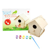 Robotime Bird House With 6 Color Pigment And Brush F199