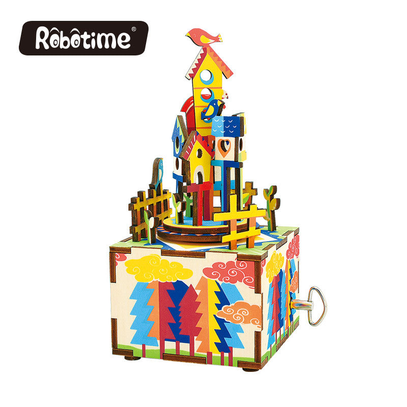 DIY Music Box-AM307-Castle in the sky