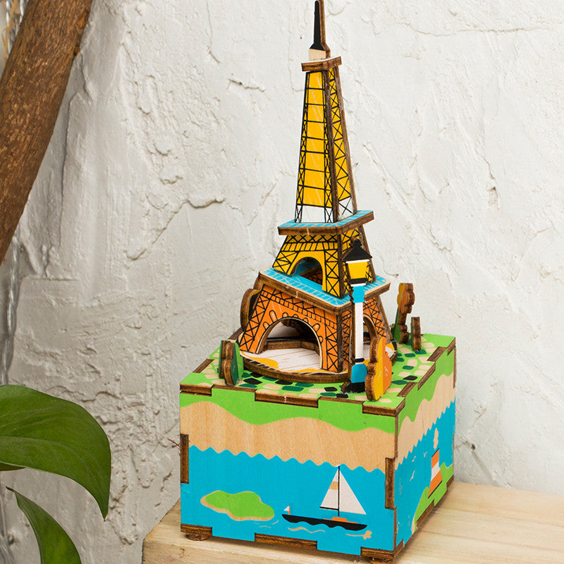 DIY Music Box-AM308 Romantic Eiffel