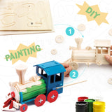3D painting puzzle HC251 Locomotive