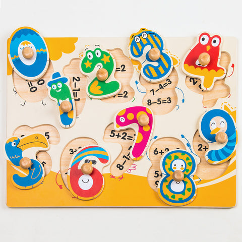 Jigsaw Puzzle-Dancing Numbers HP002