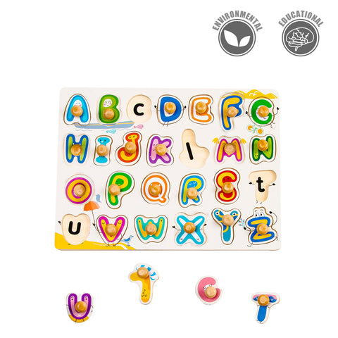 Peg Puzzle - English 26-letter Game - HP003