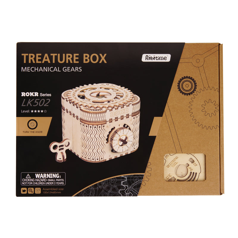 Treasure Box LK502 Mechanical Secret Locker