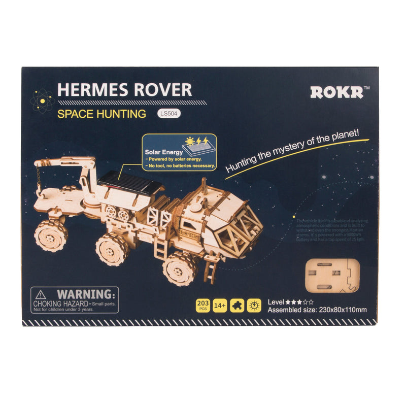 Navitas Rover LS504 - Robotime Solar Energy Toys Space Hunting