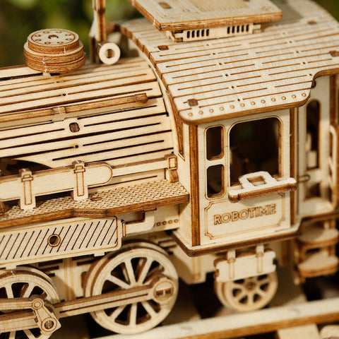 3D Self-assembled 1:80 Scale Model Train—Prime Steam Express MC501