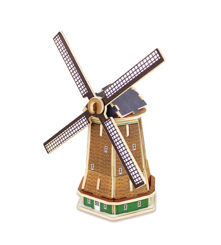 Mini World's Great Architecuture - Holland Windmill MJ208
