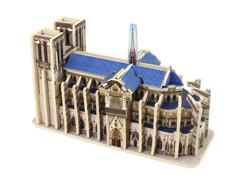 Mini World's Great Architecuture - Notre Dame De Paris MJ404