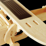 Solar Energy Drived - Natural Wooden Aircrafts - Monoplane P210