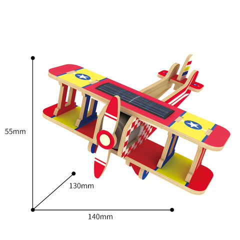 Solar Energy Drived - Colorful Paper Coating - Biplane P220S