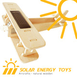 Solar Energy Drived - Natural Wooden Aircrafts - Biplane P220