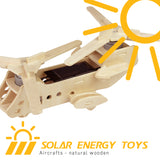 Solar Energy Drived - Natural Wooden Aircrafts - CH47 P320