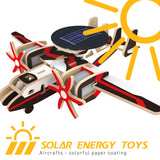 Solar Energy Drived - Colorful Paper Coating - Early Warning Plane P340S