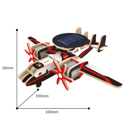 Solar Energy Drived Aircraft-Early Warning Plane P340S